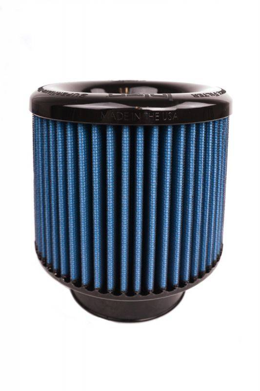 "3.50/"" FILTER 6.00/"" BASE//5/"" TALL//5/"" TOP INJEN REPLACEMENT DRY AIR FILTER"