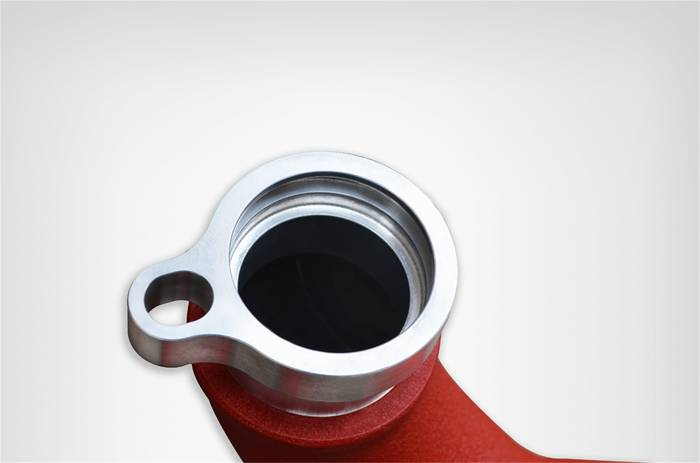 Injen Technology - Injen SES Intercooler Pipes (Wrinkle Red)