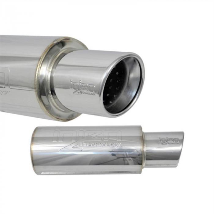 Injen Technology - Injen 76MM Universal Muffler w/ TIP