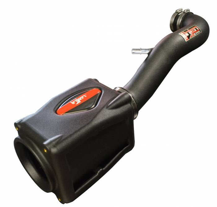 Injen Technology - Injen PF Cold Air Intake System w/ Rotomolded Air Filter Housing (Wrinkle Black) - PF5005WB