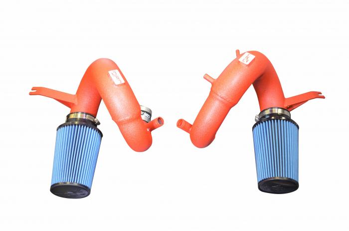 Injen Technology - Injen SP Short Ram Cold Air Intake System (Wrinkle Red) - SP1350WR
