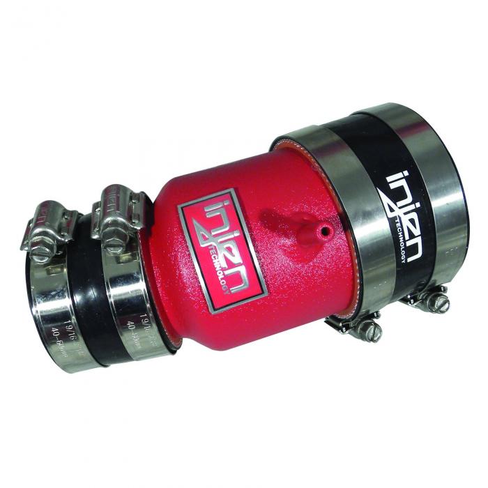 Injen Technology - Injen Turbo Auxillary Tube (Wrinkle Red) - SES1901WR