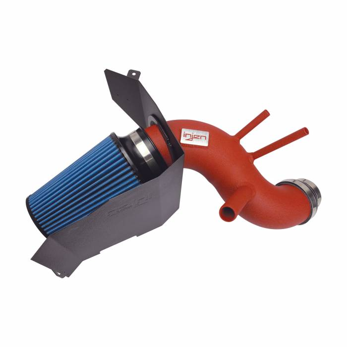 Injen Technology - Injen SP Short Ram Cold Air Intake System (Wrinkle Red) - SP1355WR