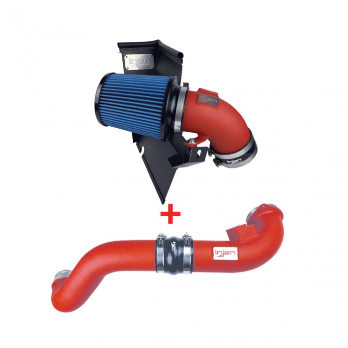 Injen Technology - Injen PK Power Package System - Supra A90 (Wrinkle Red) - PK2300WR