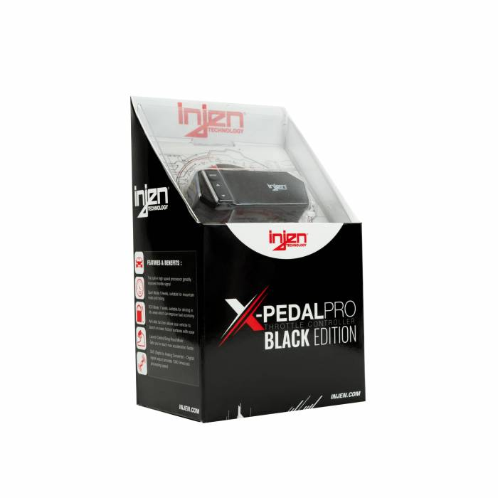 Injen Technology - Injen X-Pedal PRO Black Edition Throttle Controller - PT0001B