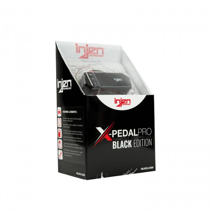 Injen Technology - Injen X-Pedal PRO Black Edition Throttle Controller - PT0004B