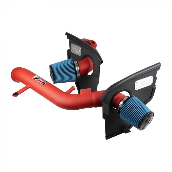 Injen Technology - Injen SP Short Ram Cold Air Intake System (Wrinkle Red) - SP1116WR