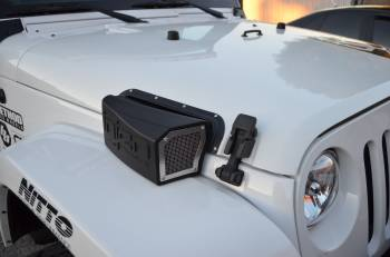 Injen Technology - Injen EVOLUTION Ram Air Scoop For The Jeep JK - Image 2