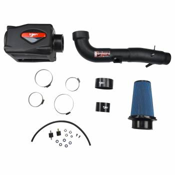 Injen Technology - Injen PF Cold Air Intake System w/ Rotomolded Air Filter Housing (Wrinkle Black) - Image 2