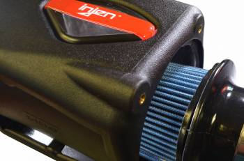 Injen Technology - Injen PF Cold Air Intake System w/ Rotomolded Air Filter Housing (Wrinkle Black) - PF5005WB - Image 4