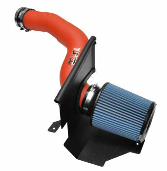 Injen Technology - Injen SP Short Ram Cold Air Intake System (Wrinkle Red) - SP9003WR - Image 1