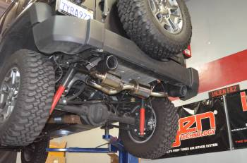 Injen Technology - Injen Dual Exhaust System (Black) - Image 5