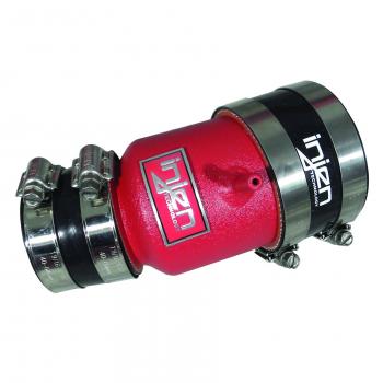 Injen Technology - Injen Turbo Auxillary Tube (Wrinkle Red) - SES1901WR - Image 1