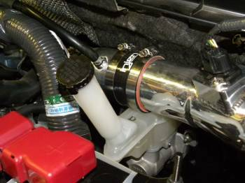 Injen Technology - Injen Turbo Auxillary Tube (Wrinkle Red) - SES1901WR - Image 2