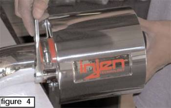 Injen Technology - Injen Universal Heat Shield (Polished) - Image 2