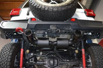 Injen Technology - Injen Dual Exhaust System (Black) - SES5005BLK - Image 4