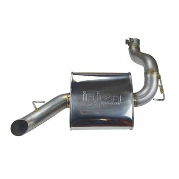 Injen Technology - Injen High Tuck Axle Back Exhaust System (Polished) - SES5006AB - Image 2