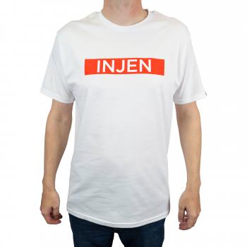 Injen Technology - Injen - Font Design T-Shirt (White) - Image 3