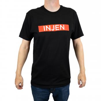 Injen Technology - Injen - Font Design T-Shirt (Black) - Image 2