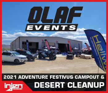 OLAF Events Desert Clean Up Recap