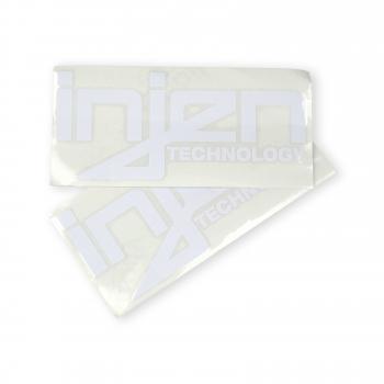 Injen Technology - Injen White Die-Cut Decal - Image 2
