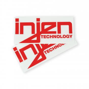 Injen Technology - Injen Red Die-Cut Decal - Image 2