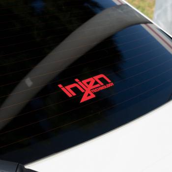 Injen Technology - Injen Red Die-Cut Decal - Image 1